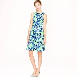 •J.Crew• Floral Cocktail Dress